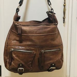 Tano leather Bag large and luxurious leather